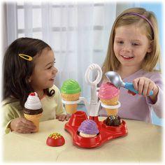 Fisher Price Servin' Surprises Ice Cream Party Set
