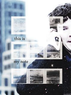 Sherlock Holmes: this is my note