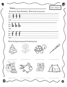 FUNDATIONS LETTER REVIEW AND WORD PLAY LEVEL 1 UNIT 1-3 - TeachersPayTeachers.com