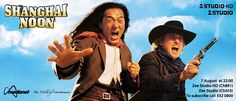 Shanghai Noon - Jackie Chan plays a Chinese man who travels to the Wild West to rescue a kidnapped princess. After teaming up with a train robber, the unlikely duo takes on a Chinese traitor and his corrupt boss.
