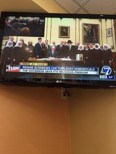 "Indiana's ""Freedom to Discriminate"" Act."
