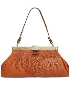 Patricia Nash Tooled Rose Ferrara Satchel - Patricia Nash - Handbags & Accessories - Macy's