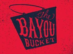 Dribbble - Bayou Bucket by Andrew Harrington