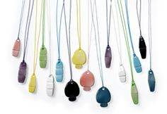 My Life USB. Ceramic USB necklace by Kähler.