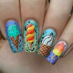 Icecream nails
