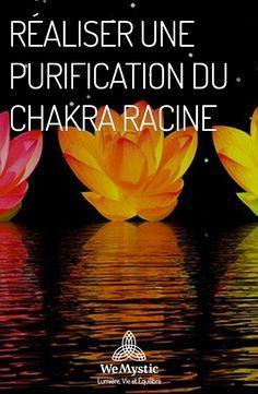 Réaliser une purification du chakra racine - WeMystic France - Piper L. Le Reiki, Reiki Chakra, Ayurveda, Les Chakras, Chakra Symbols, Reflexology, Yoga Meditation, Feng Shui, Karma