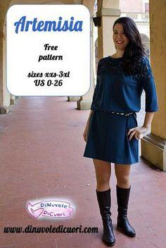 Artemisia Dress - Free Sewing Pattern