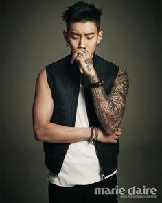 Jay Park - Marie Claire Magazine June Issue '13