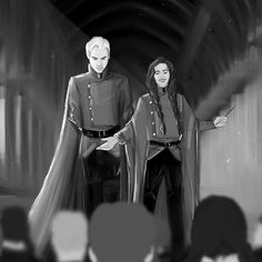 Draco And Hermione, Hermione Granger, Draco Malfoy, Harry Potter Ships, Harry Potter Fan Art, Harry Potter Journal, Dramione Fan Art, Pitch Perfect, Delena