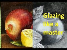 Oil Portrait Demonstration. Using a Grid, Grisaille, and Glazing - YouTube
