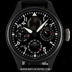 IWC Ceramic U.S. Navy Top Gun Perpetual Calendar Pilot B&P IW502902