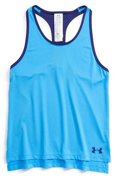 Under Armour 'Alpha' HeatGear® Racerback Tank (Big ...