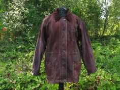 Mens Large Denim Barn Coat 50 Chest Urban by ExperienceVintage1