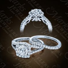 Marks Jewelers: Details | Diamond Engagement Rings (001-140-02155)
