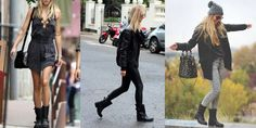How to Wear Biker Boots