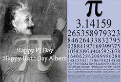 PI Day e Albert Einstein « n@vigando