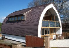 Straw Bale House in the UK