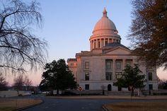 #Arkansas State Capitol, Little Rock  #USA #traveling