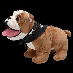MINI Bulldog Plush - Large - Every MINI driver's best friend comes with a black scarf and a collar. 18- (L) x 13- (H) x 8- (W). http://www.shopminiusa.com/PRODUCT/1377/MINI-BULLDOG-PLUSH---LARGE/?UTM_SOURCE=NATIONAL