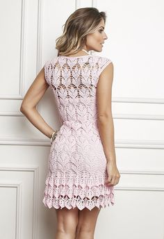 Женское платье крючком - perchinka63.ru