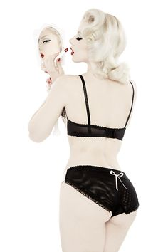 """""""Sheer Show""""Dottie's Delights A/W 2014 collaboration....  Pinup Girl  http://thepinuppodcast.com features pinup models and pin up photographers."""