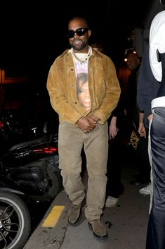 The Kanye West Look Book | GQ Kanye West New Album, Kanye West Albums, Kanye West Outfits, Kanye West Style, Yeezy Fashion, Mens Fashion, Yeezy Outfit, Comic Book Collection, Versace Men