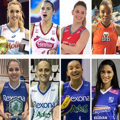 Superliga feminina também terá a Craque da Galera. Vote e escolha! #globoesporte