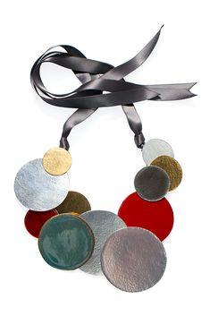 Flat Plated Metals at Herve Van Der Straeten Style.com Accessories Index : spring 2013 : Hervé Van der Straeten