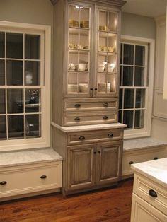 custom built in cabinet