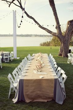Outdoor garden wedding decor. Photo by Joshua Aull Photography. www.wedsociety.com #wedding #decor