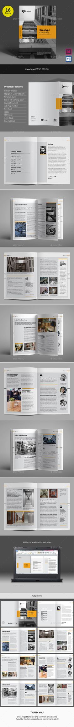 Kreatype Case Study v02 - Informational Brochures. Download link: https://graphicriver.net/item/kreatype-case-study-v02/17887881?ref=heriwibowo