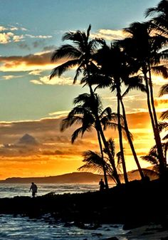 stunning Hawaiian sunsets Photo magnetic Bookmark by LDphotography, $6.00