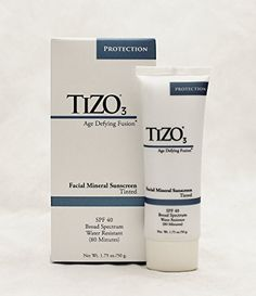 sunscreen Tizo 3 Facial mineral sunscreen tinted, spf 40 ,Age defying fusion - *** Learn more by visiting the image link. How To Get Rid Of Acne, Program Design, Sun Protection, Sunscreen, Skin Care Tips, Body Care, Lotion, Minerals, Facial