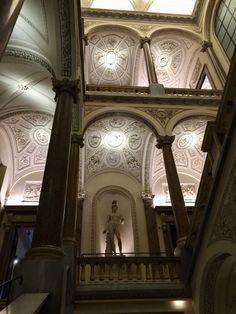 Palazzo Braschi: lo scalone