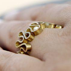 squiggle jewellery by Hanan Emquies
