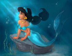 A Whole New World Under Da Sea by Elf-in-mirror on DeviantArt