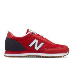 501 Ripple Sole Men's Running Classics Shoes - Red/Grey (MZ501AAJ)