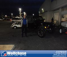 #HappyBirthday to Robbie Jackson from James Kristensen at Wolfchase Chrysler Jeep Dodge!