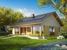 two bedroom single story house plans modern architecture best one storey lrg House Plans South Africa, Bali House, Compact House, Rural House, Modern Architecture House, House Roof, Story House, Home Design Plans, Small House Plans