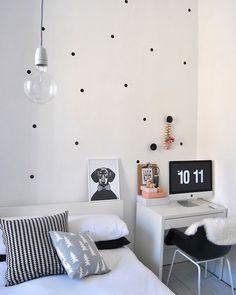 2013 Elegant White Scandinavian Bedroom Design