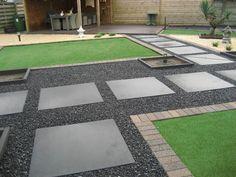 Mooie tuin aanleggen met grind - Inspiratie voor je interieur House Design, Contemporary, Caravan, Home Decor, Gardening, School, Google, Garden, Balcony