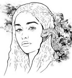 156 Best Game Of Thrones Coloring Pages Images Coloring