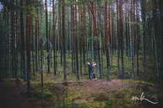 Couples photo session in forest, wedding anniversary, Estonia, author Maaris Puust MK Foto