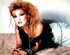 Cyndi Lauper - she is awesome!