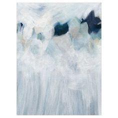 """""""Anemone"""" - Painting Limited Edition Art Print by Denise Wong. (6,025 INR) ❤ liked on Polyvore featuring home, home decor, wall art, modernism paintings, modern home decor, modern wedding invitations, modern wall art and modern home accessories"""