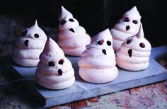 Your little ones will love these ghostly meringues - crispy on the outside and deliciously gooey on the inside, they're the perfect spooky sweet treat and a scarily good Halloween party idea.