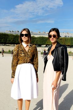 Giorgia and Giulia Tordini photographed by Tommy Ton - for Tzipporah by Natasha Goldenberg SS13