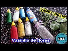 DIY - Vasinho de flores   Luciana de Queiróz