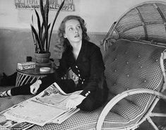 Some never before seen pictures of Bette Davis -- I was always fascinated by her.