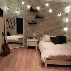 Have an open space of you don't need that much stuff in your room. Makes it look…